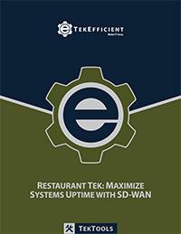 QSR - Quick Service Restaurant Technology - SD-WAN