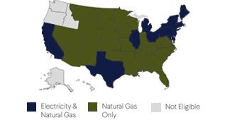 Energy Buyers Guide - Savings Map